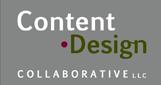 content design collaborative light grey logo 161x82