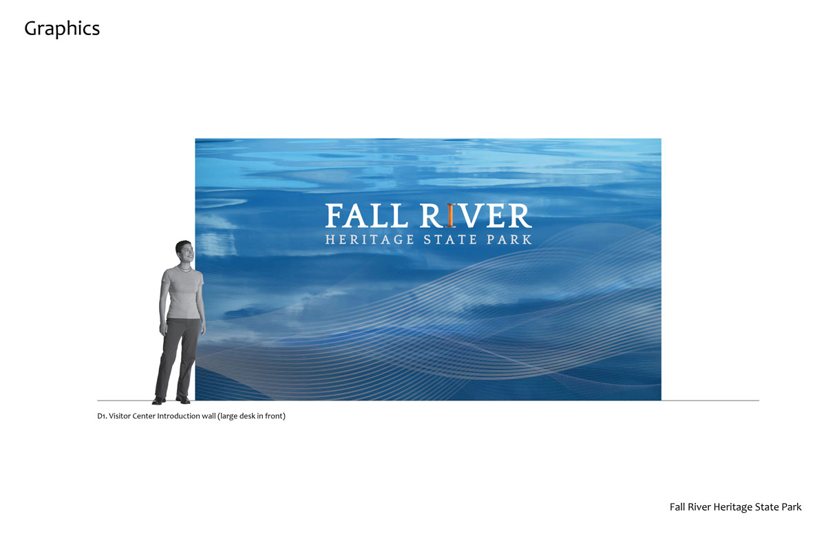 Fall River Heritage State Park Entrance Wall