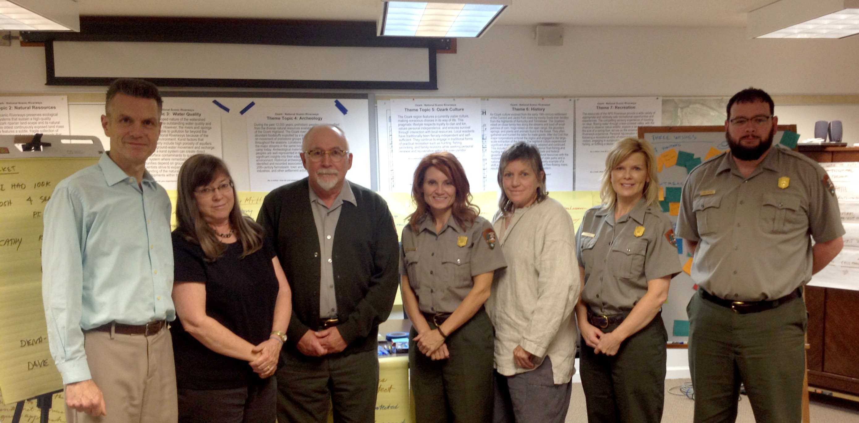 Ozark National Scenic Riverway NPS Interpretive team