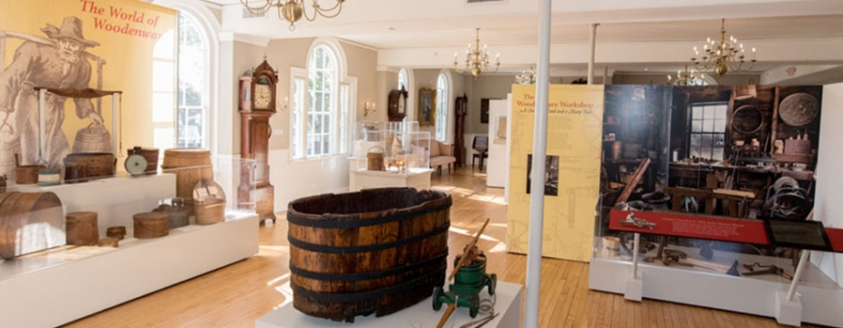 The Boxes, Buckets, and Toys; The Craftsman of Hingham exhibit